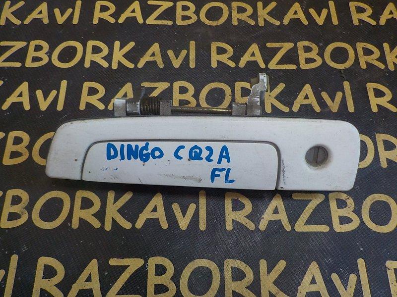 Ручка двери внешняя Mitsubishi Dingo CQ1A 4G15 1998 передняя левая
