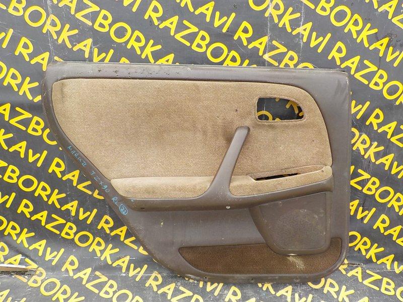 Обшивка дверей Toyota Markii JZX90 задняя левая