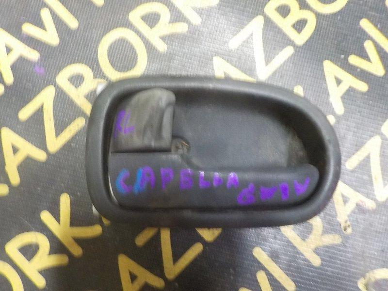 Ручка двери внутренняя Mazda Capella GW8W задняя левая