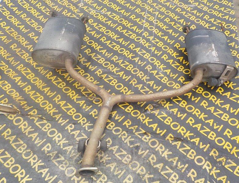 Глушитель Toyota Mark X GRX121 3GRFSE