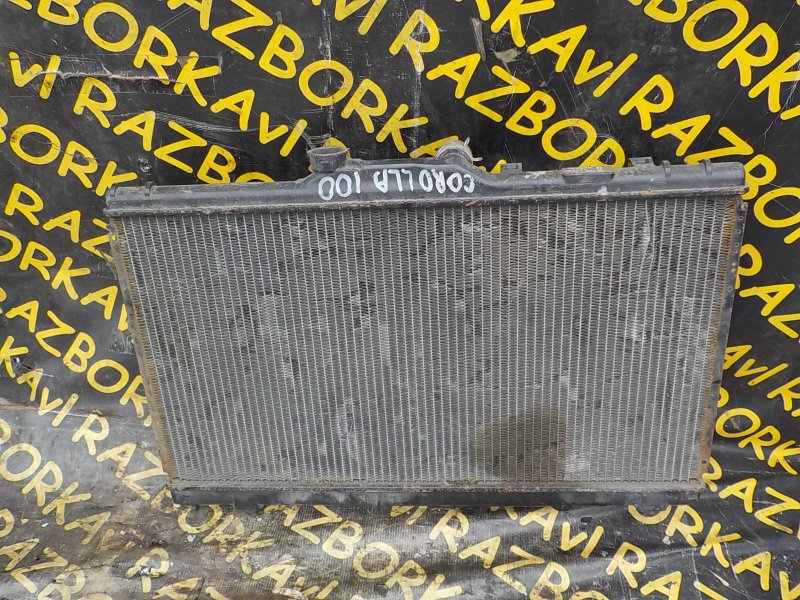 Радиатор основной Toyota Corolla AE100 5EFE
