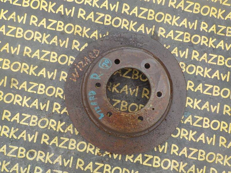 Тормозной диск Isuzu Wizard UES73 4JX1 задний левый
