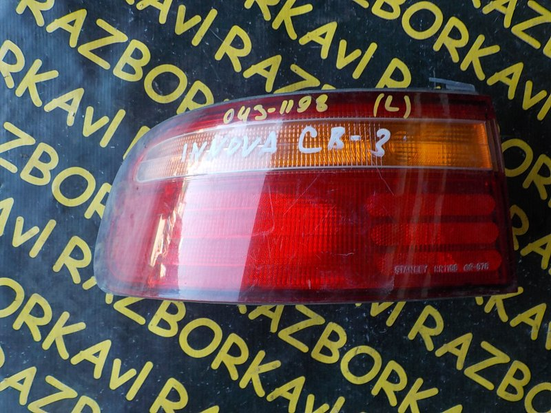Стоп-сигнал Honda Ascot Innova CB1 F18A 1989 задний левый