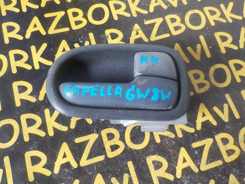 Ручка двери внутренняя Mazda Capella GW8W задняя правая