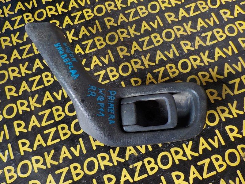 Ручка двери внутренняя Nissan Primera Wagon WQP11 задняя правая