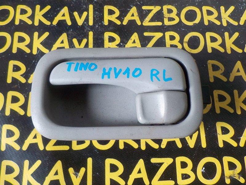 Ручка двери внутренняя Nissan Tino HV10 задняя левая