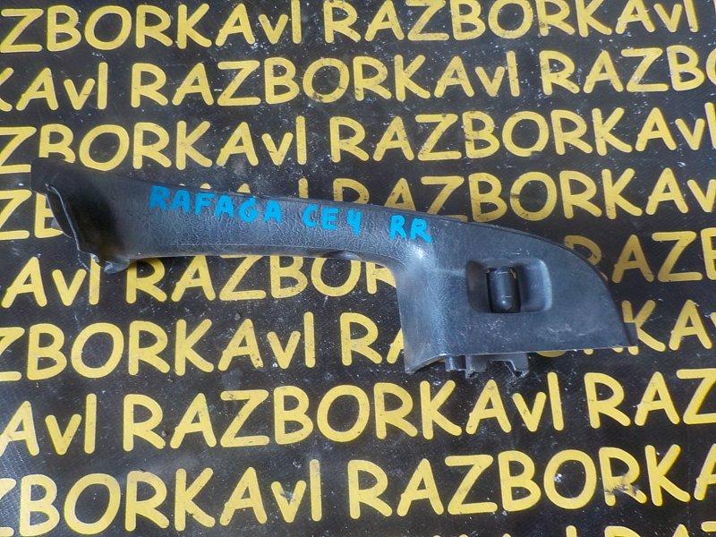 Пульт стеклоподъемника Honda Ascot CE4 G20A 1993 задний правый