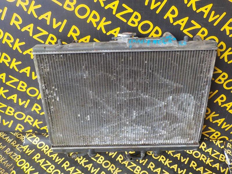Радиатор основной Mitsubishi Challenger K86W 6G72