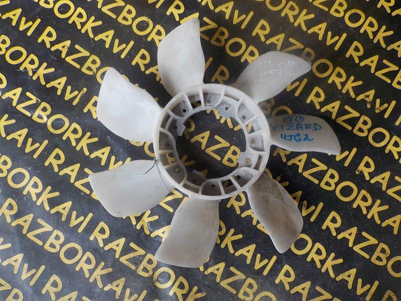 Вентилятор вязкомуфты Isuzu Wizard UCS69 4JG2T