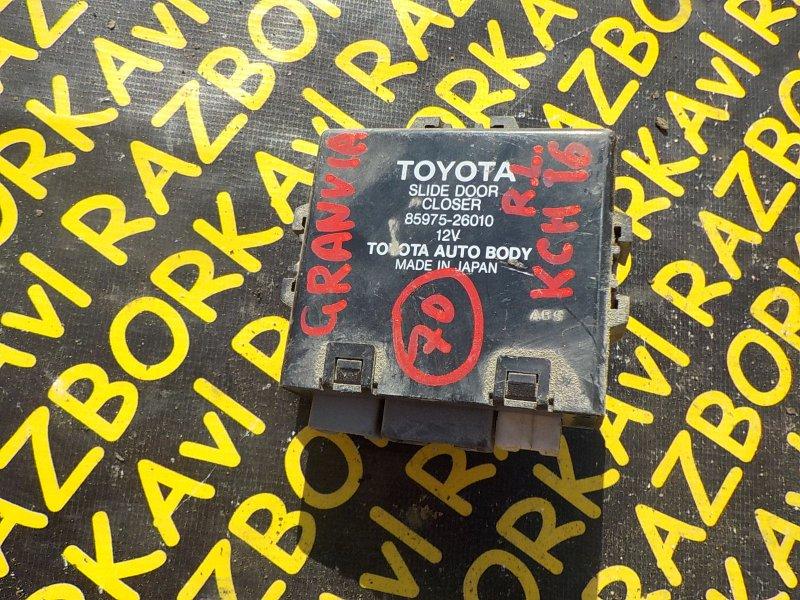 Электронный блок Toyota Granvia KCH10 1KZTE 1997