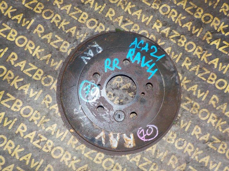 Тормозной барабан Toyota Rav4 ACA21 1AZFSE задний правый