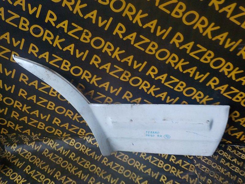 Накладка на дверь Nissan Terrano Regulus PR50 TD27ETI 1995 задняя правая