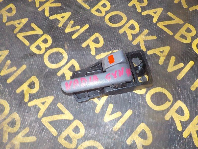 Ручка двери внутренняя Toyota Nadia SXN10 3SFSE задняя правая