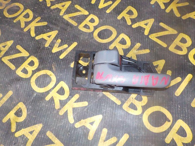 Ручка двери внутренняя Toyota Nadia SXN10 3SFSE задняя левая