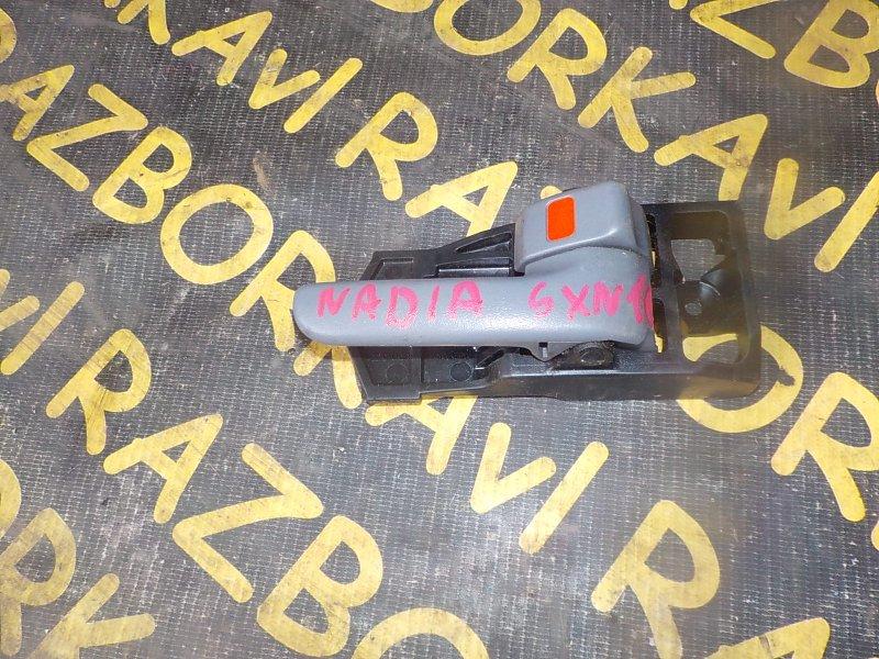 Ручка двери внутренняя Toyota Nadia SXN10 3SFSE передняя правая