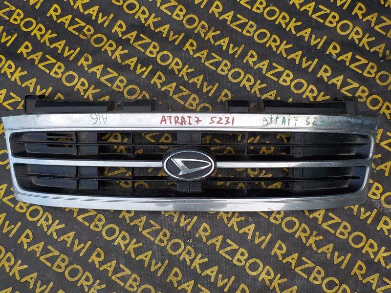 Решетка радиатора Daihatsu Atrai 7 S231G K3VE 1999 передняя