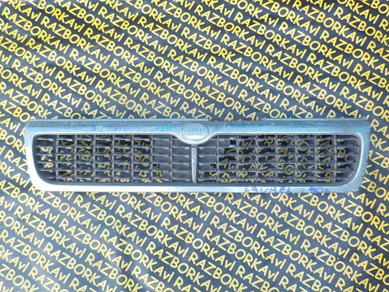 Решетка радиатора Nissan Laurel HC34 передняя