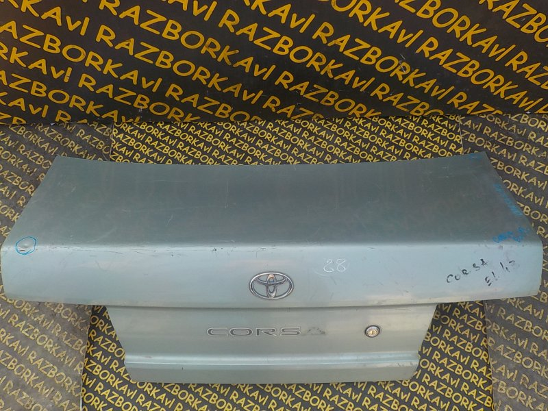 Крышка багажника Toyota Corsa EL41 задняя