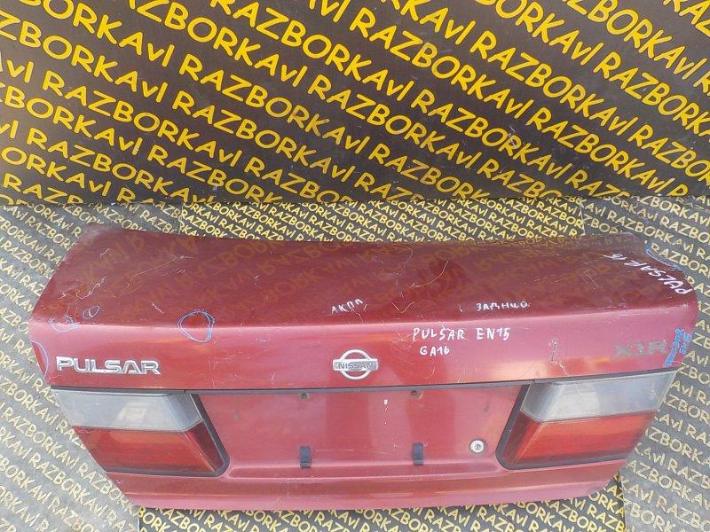Крышка багажника Nissan Pulsar FN15 задняя