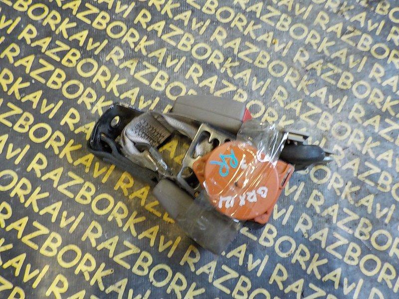 Ремень безопасности Toyota Mark X GRX120 3GRFSE задний правый