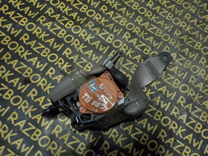 Ремень безопасности Toyota Mark X GRX120 3GRFSE задний левый