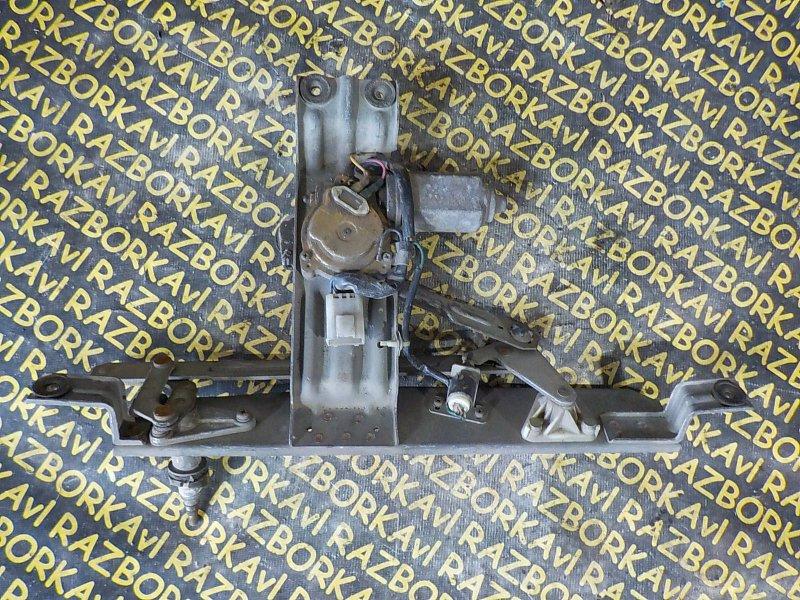 Механизм дворников Nissan Terrano WBYD21 VG30E 1986 задний
