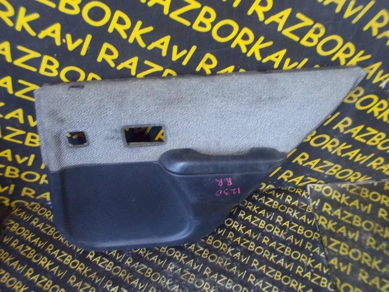 Обшивка дверей Toyota Tercel EL45 задняя правая