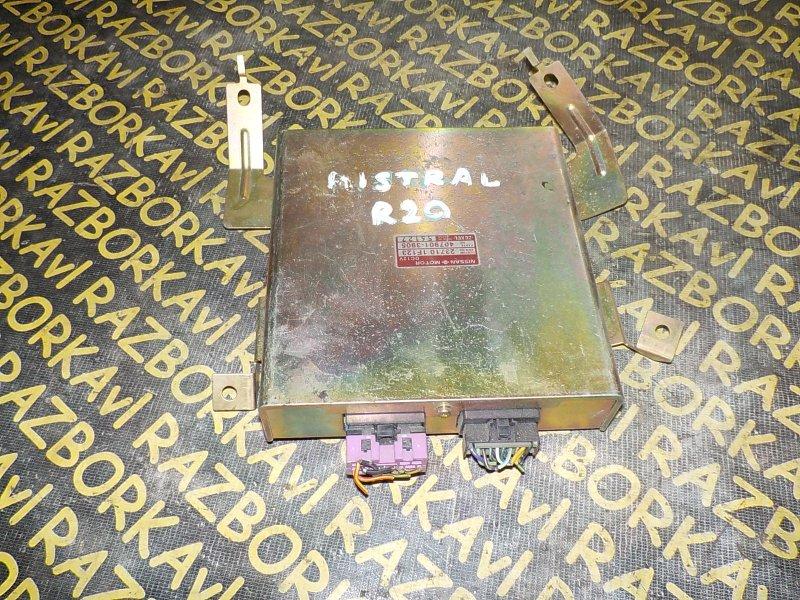 Блок управления efi Nissan Mistral R20 TD27