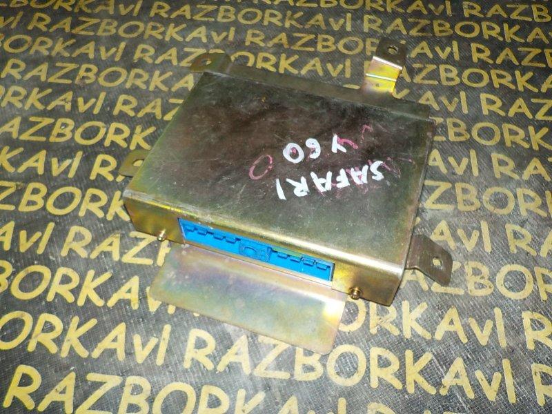 Блок управления efi Nissan Safari WYY60 RD28T 1994