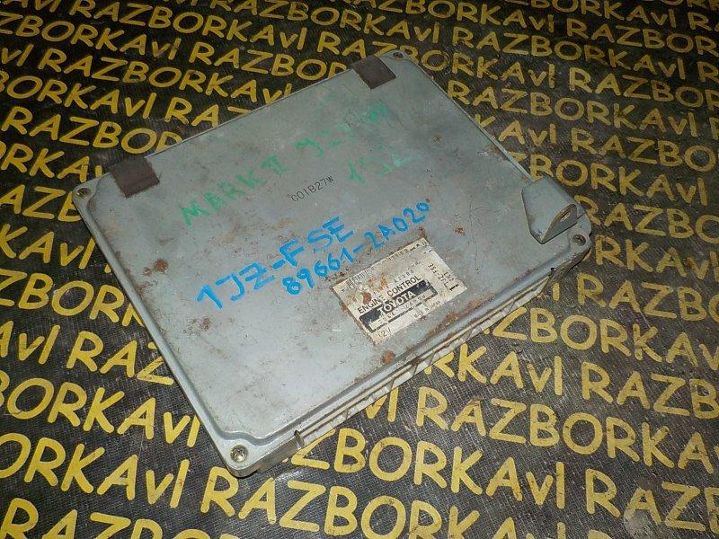 Блок управления efi Toyota Markii JZX105 1JZGE