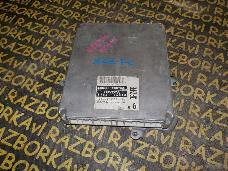 Блок управления efi Toyota Hiace Regius RCH41 3RZFE