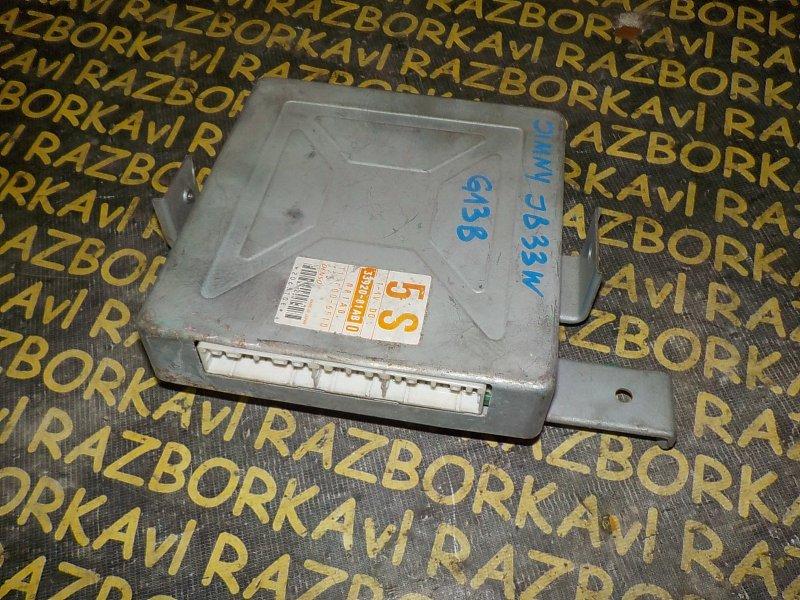 Блок управления efi Suzuki Jimny Wide JB33W G13B