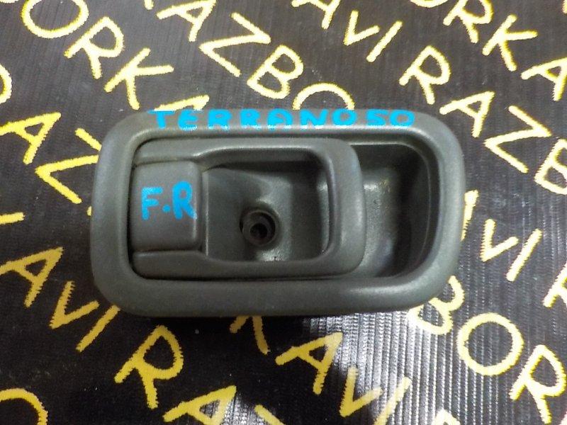 Ручка двери внутренняя Nissan Terrano Regulus PR50 TD27ETI 1995 передняя правая