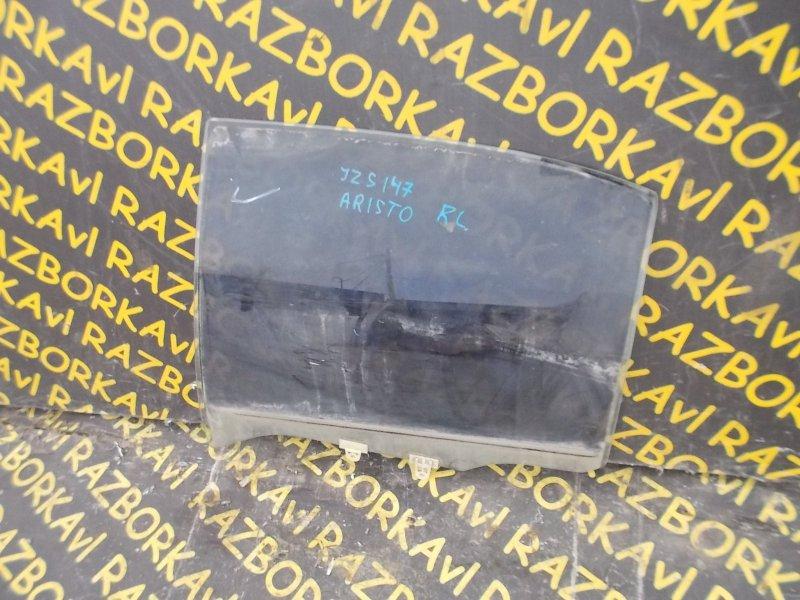 Стекло Toyota Aristo JZS147 1UZFE 1991 заднее левое
