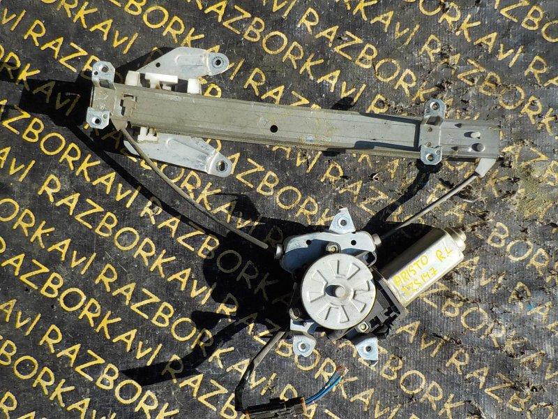 Стеклоподъемник Toyota Aristo JZS147 1UZFE 1991 задний левый