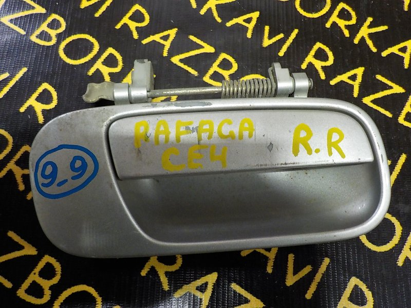 Ручка двери внешняя Honda Ascot CE4 G20A 1993 задняя правая
