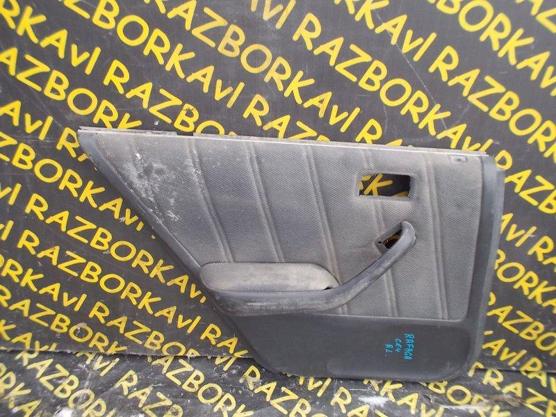 Обшивка дверей Honda Ascot CE4 G20A 1993 задняя левая