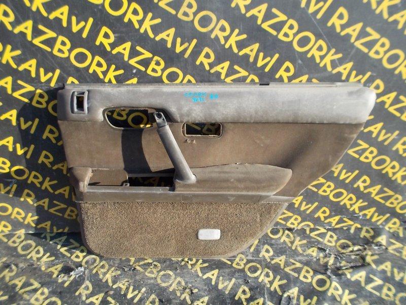 Обшивка дверей Nissan Cedric UY31 задняя правая