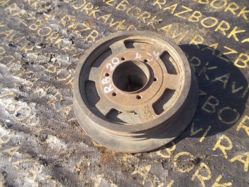 Шкив коленвала Nissan Cedric HC32 RB20E