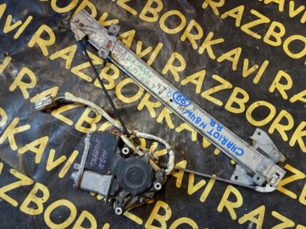 Стеклоподъемник Mitsubishi Chariot N84W 4G64 задний правый