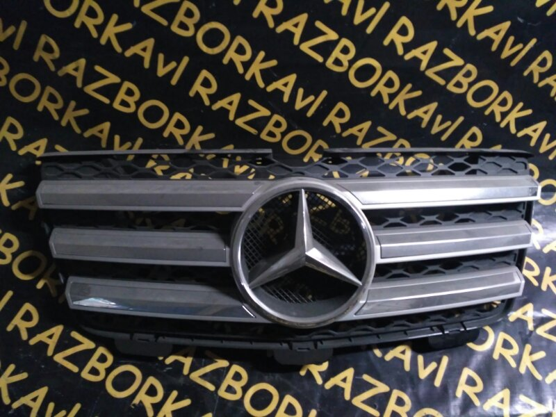 Решетка радиатора Mercedes Benz Gl-Class X164 273936 2006 передняя
