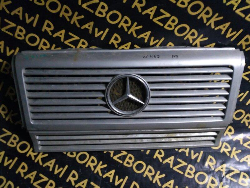 Решетка радиатора Mercedes Benz G-Class W463 113 2000 передняя