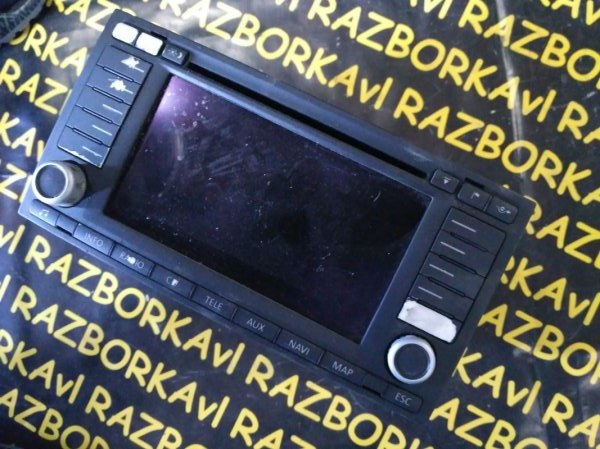 Автомагнитофон Volkswagen Touareg 7LA AXQ 2005