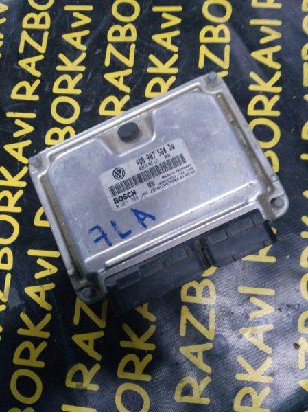 Блок управления efi Volkswagen Touareg 7LA AXQ 2004