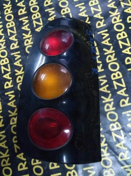 Стоп-сигнал Smart City W450 160910 2002 задний правый