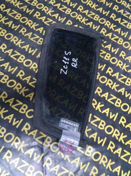 Форточка двери Suzuki Swift ZC11S задняя правая