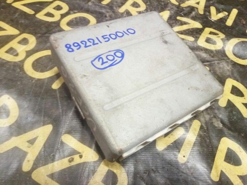 Электронный блок Toyota Celsior UCF20 1UZFE 1994