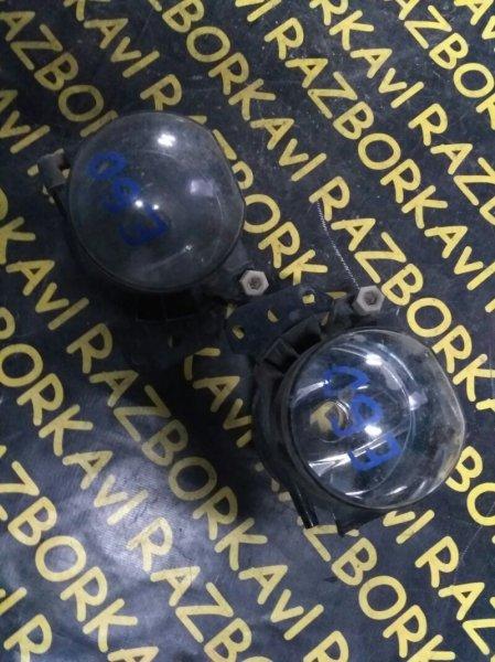 Туманка Bmw 530 E60 M54 2005 передняя правая