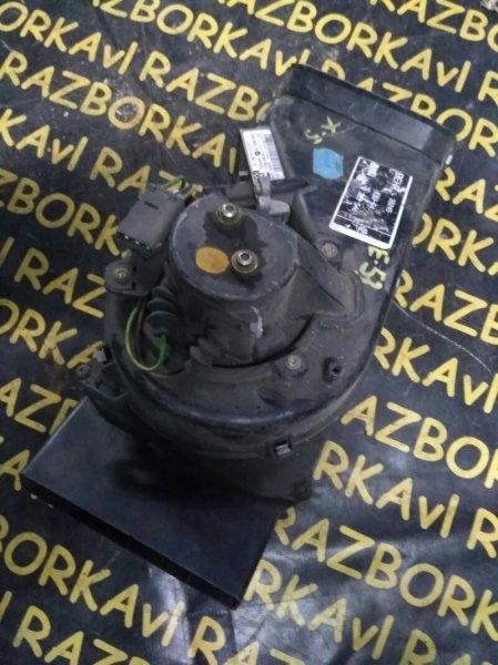 Мотор печки Bmw X5 E53 M54 2000 передний