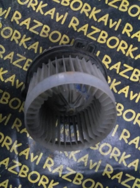 Мотор печки Honda Fit GD3 L13A 2002 передний